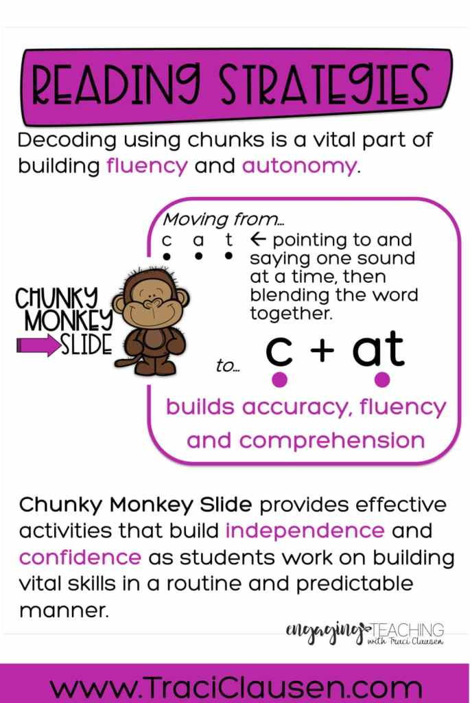 Chunky Monkey Reading Strategies