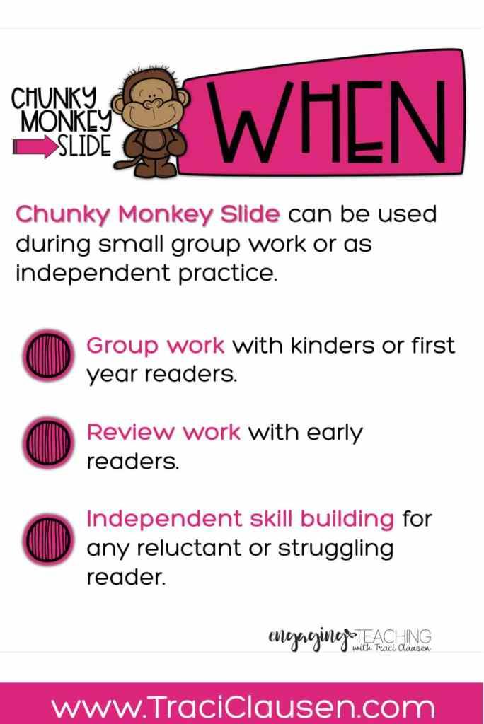 Chunky Monkey When Info