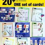 Long Vowel Word Work Activity Samples