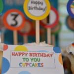 Happy Birthday to You Cupcakes