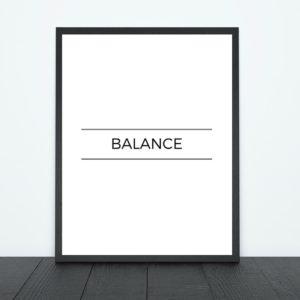 Balance Print | Tracie Braylock