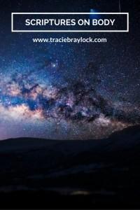 Scriptures on Body   Tracie Braylock