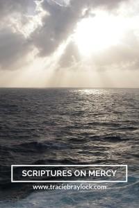 Scriptures on Mercy   Tracie Braylock