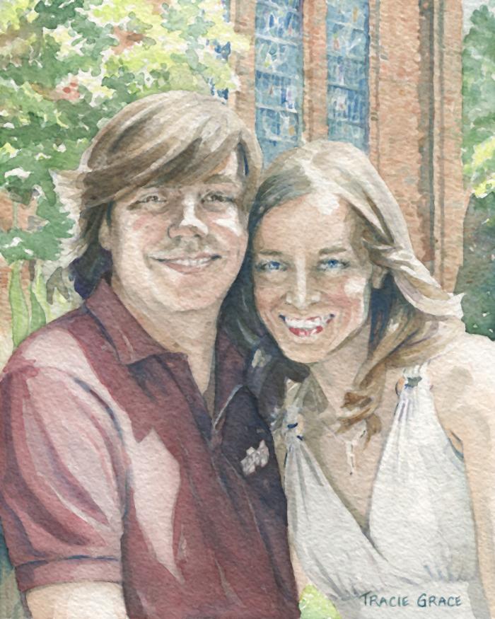 Matthew and Lauren Priddy