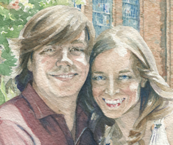 An MSU Watercolor Portrait