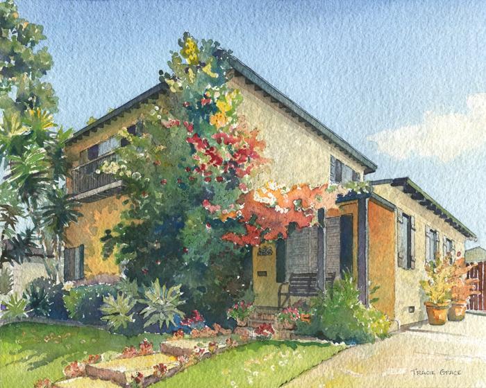 Los Angeles Home Portrait 2 (web)