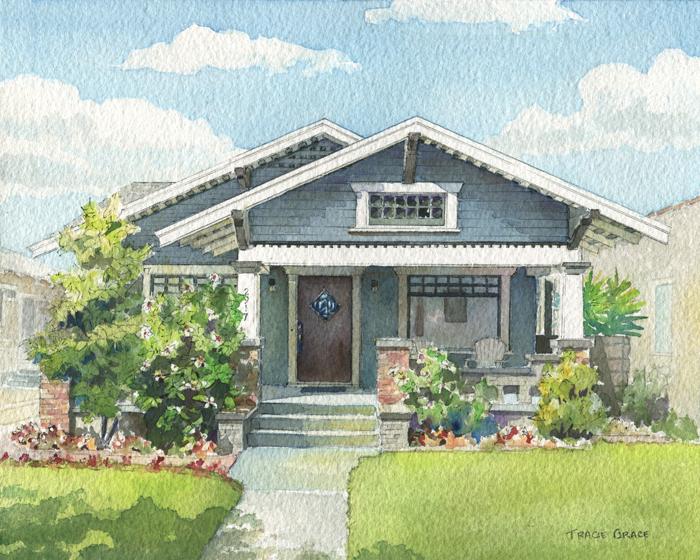 Los Angeles Home Portrait (web)