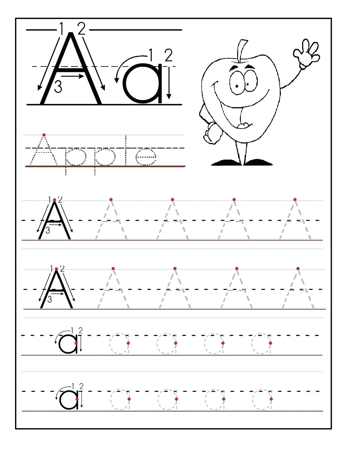 Letter Tracing Worksheets Free