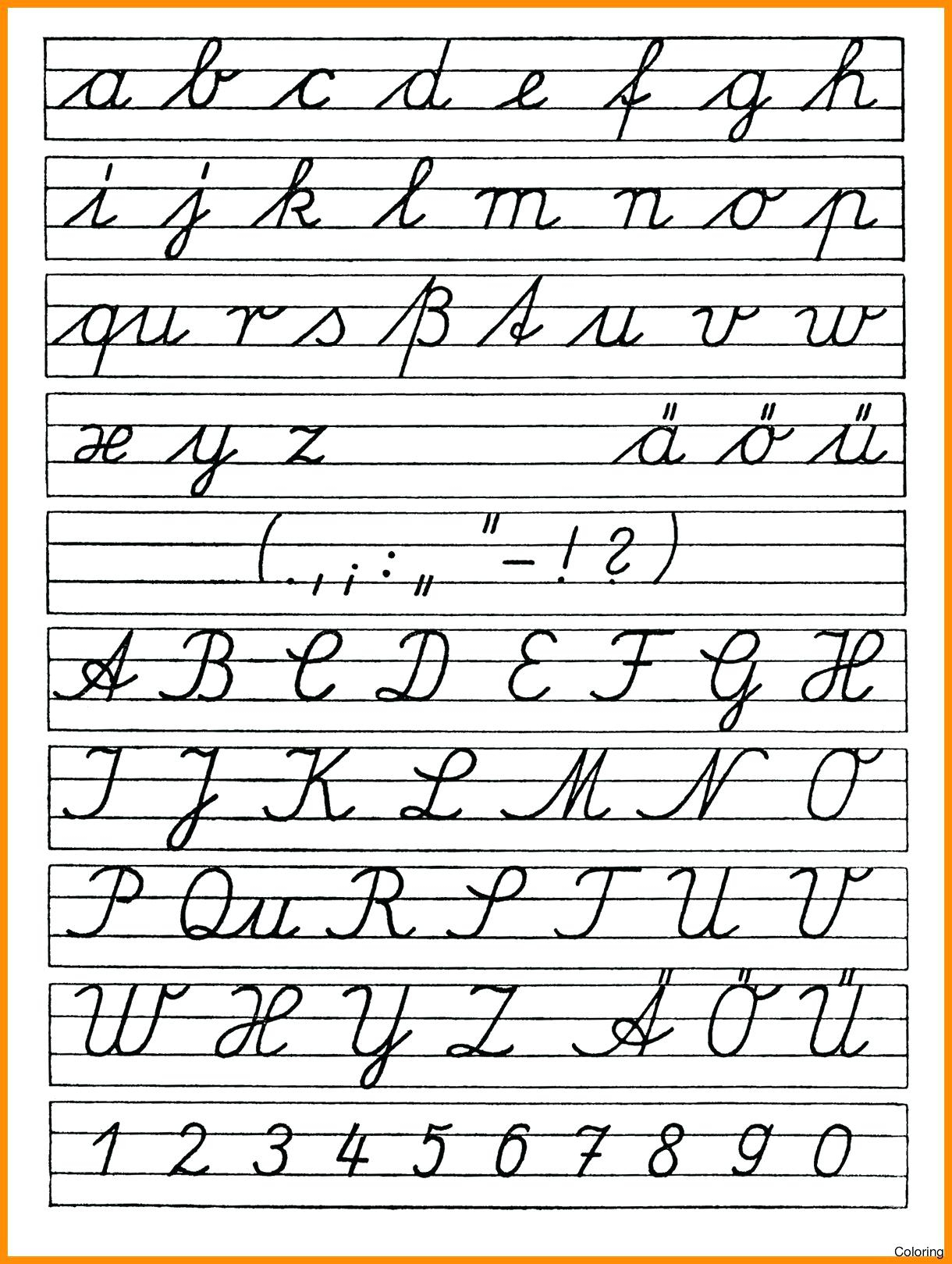 Practice Tracing Cursive Letters