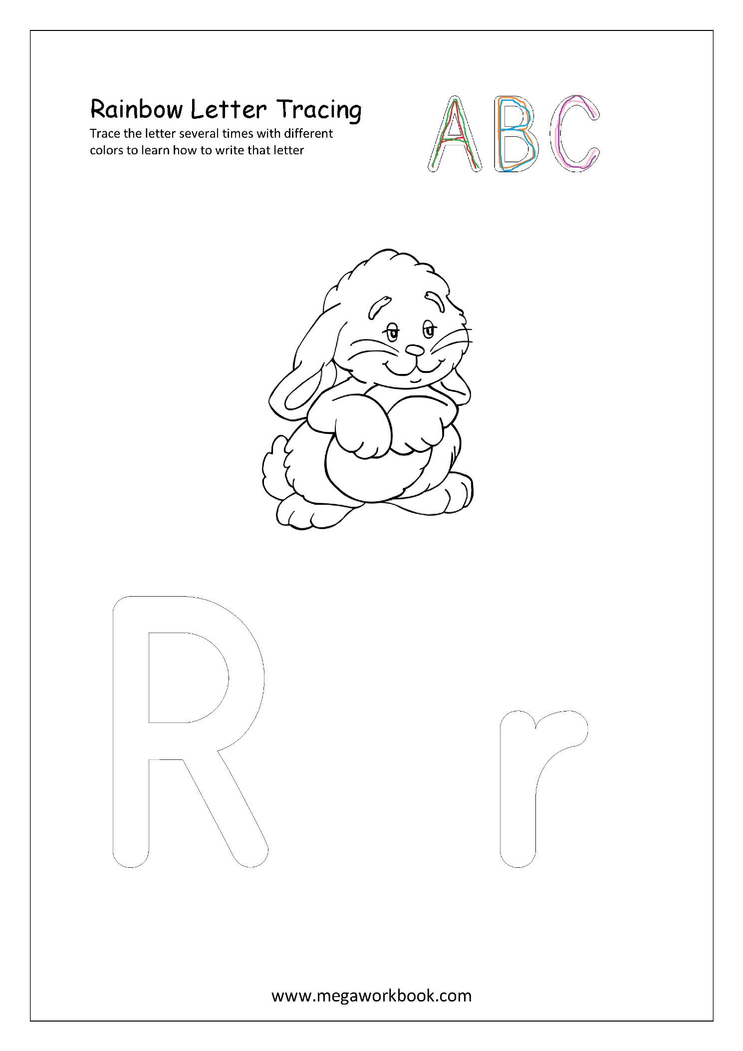 Rainbow Tracing Letters