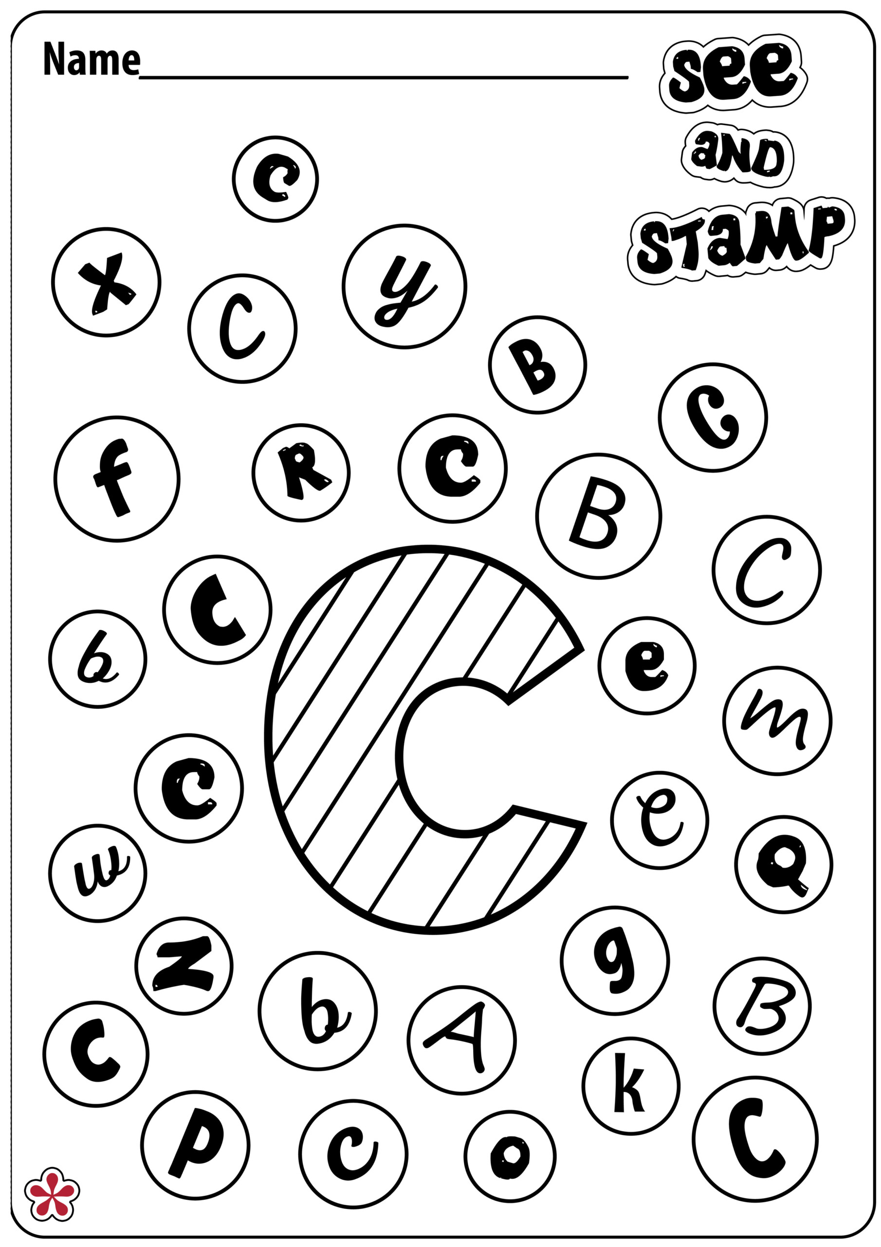 Tracing Letter C Worksheets