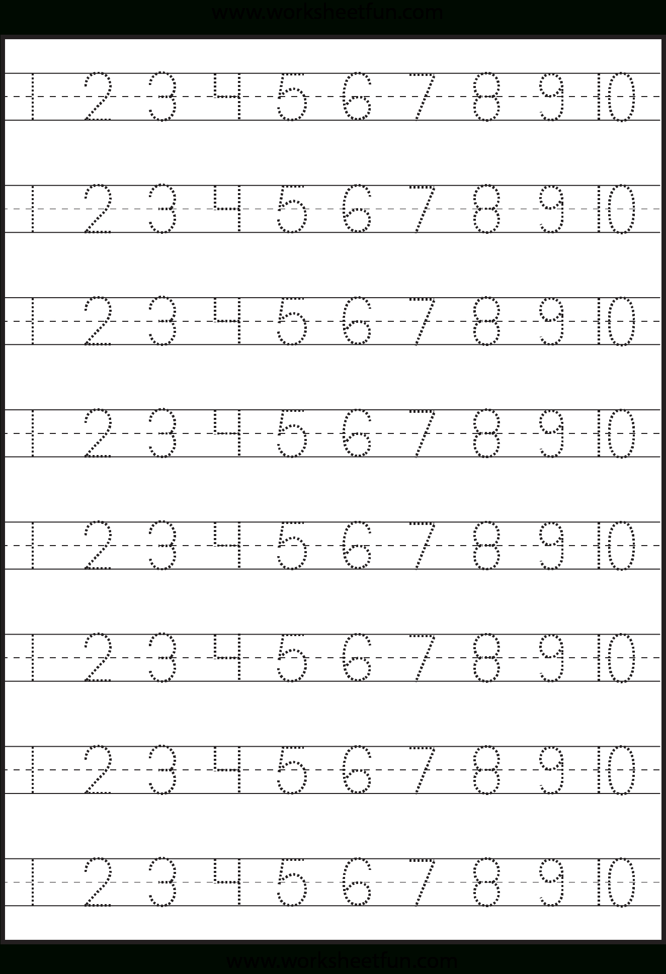Free Tracing Letters And Numbers For Preschoolers