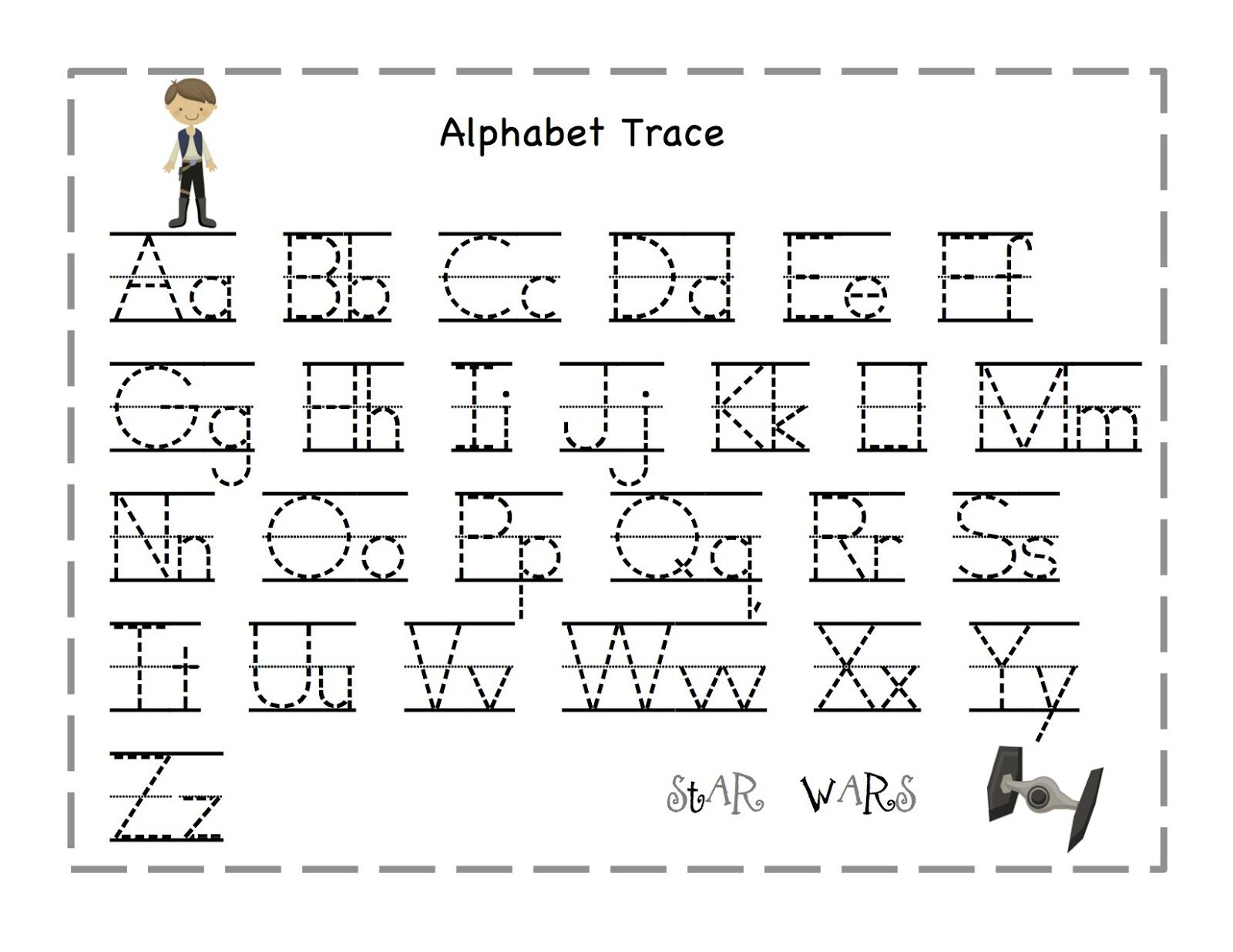 Letter Tracing Worksheets Pre K