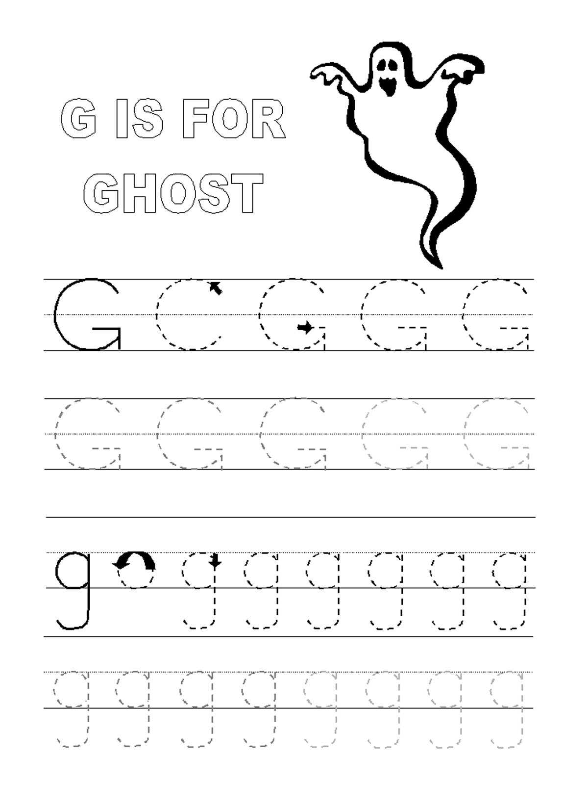 Action Alphabet Tracing Letters