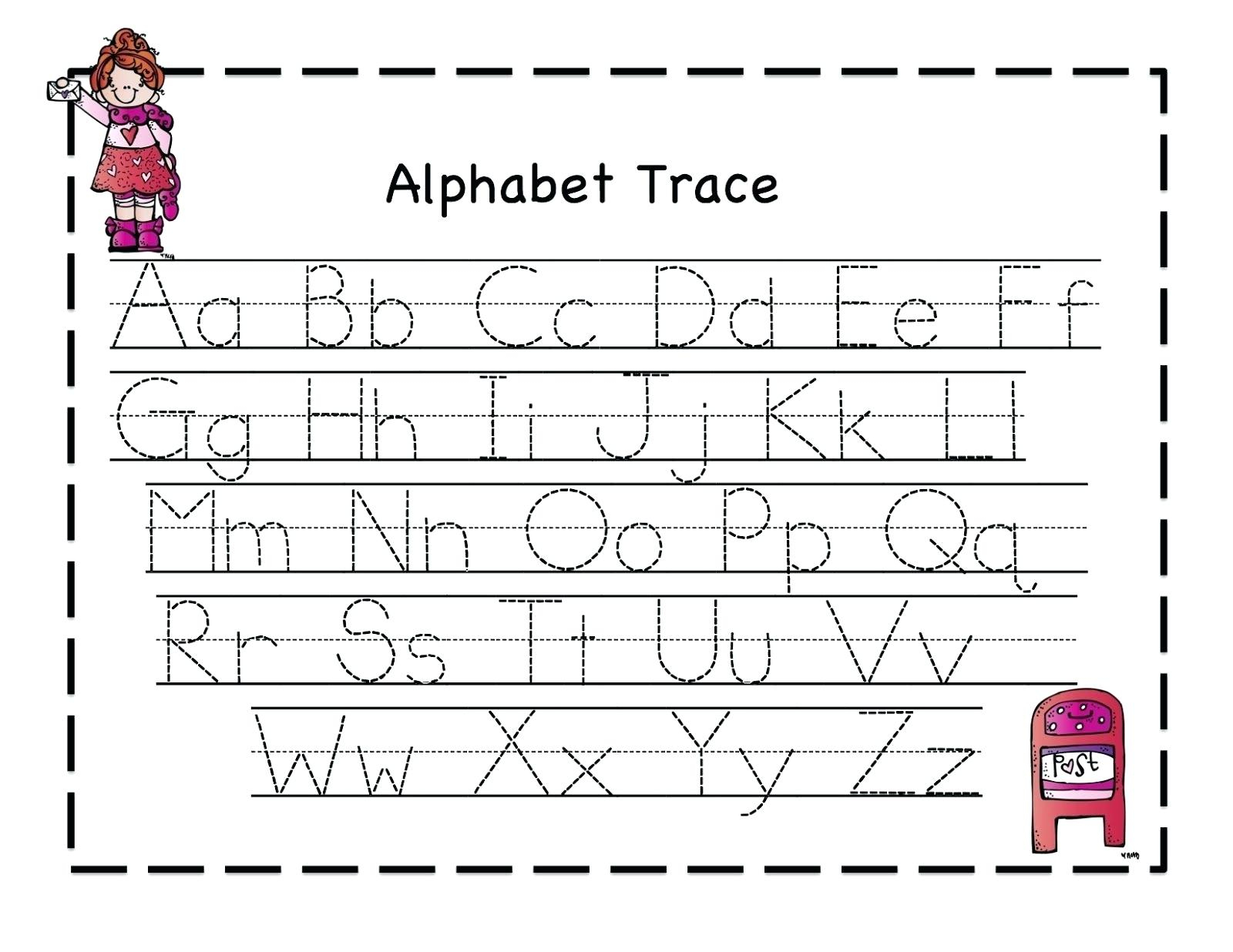 Alphabet Tracing And Writing Worksheets