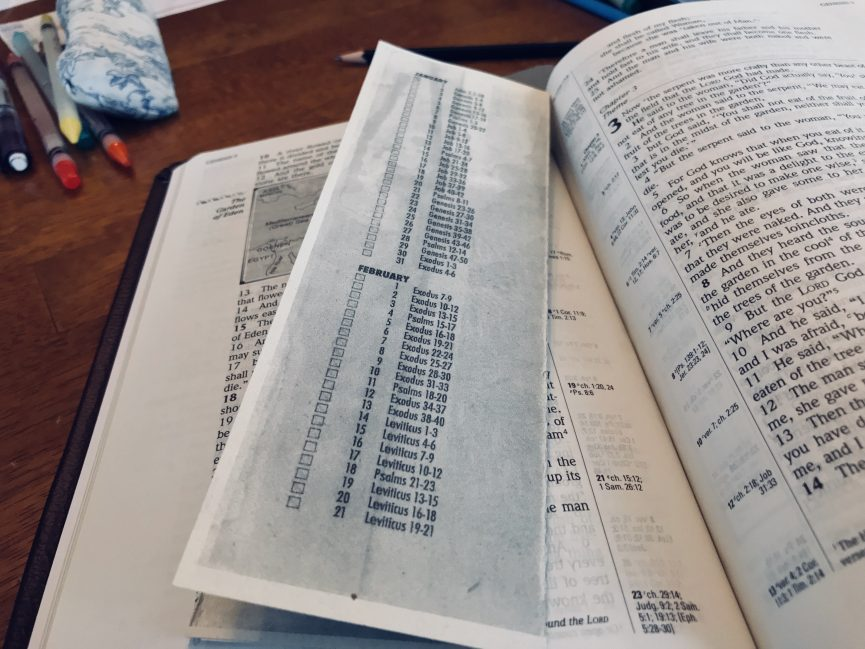 My Favorite Bible Reading Plan – Excel Still More
