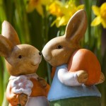 Mr. and Mrs. Easter Bunny