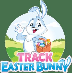 Track Easter Bunny Logo