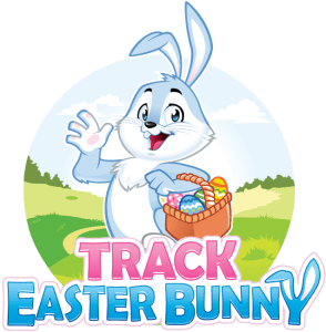 Track Easter Bunny Logo