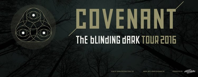 Covenant The Blinding Dark Tour