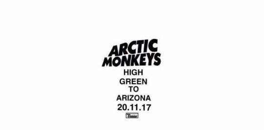 Artic Monkeys - High Green To California