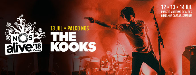 The Kooks no Palco NOS do NOS Alive'18