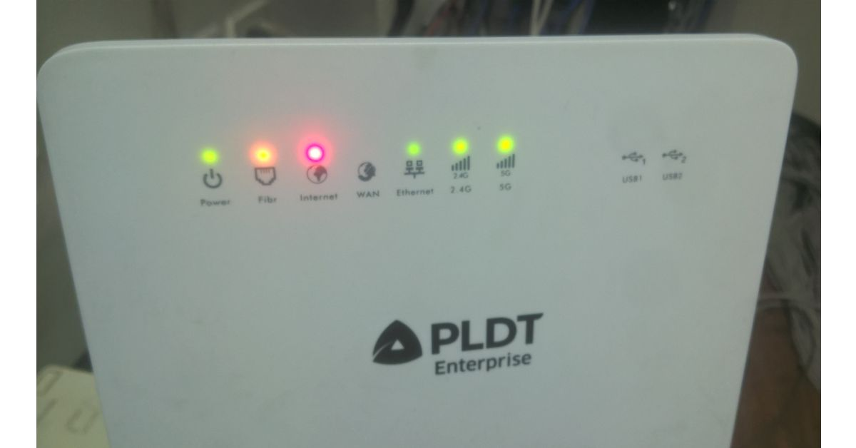 PLDT Enterprise Modem