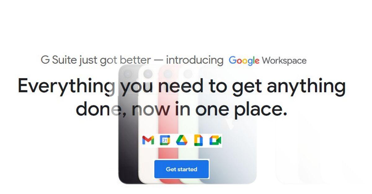 Google Workspace iPhone setup