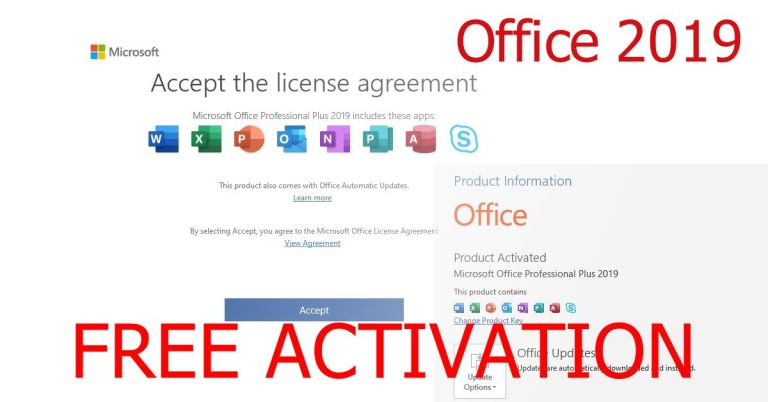 Microsoft Office 2019 free Download and Activation