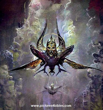 Image result for locusts in revelation 9