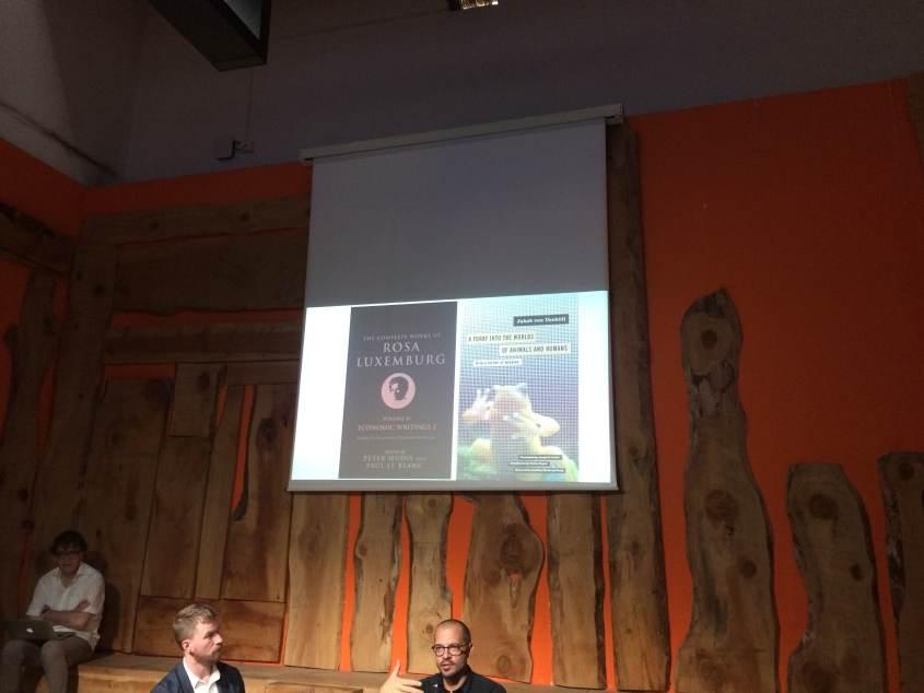 Il seminario sull'Antropocene organizzato dal Goethe Institut Mailand e dalla HKW di Berlino alla Triennale di Milano
