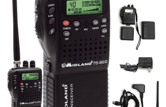 Review: Midland 75-822 HandHeld CB Radio