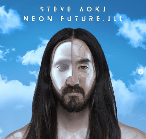 """Capa do álbum""""Neon Future III"""" de Steve Aoki."""