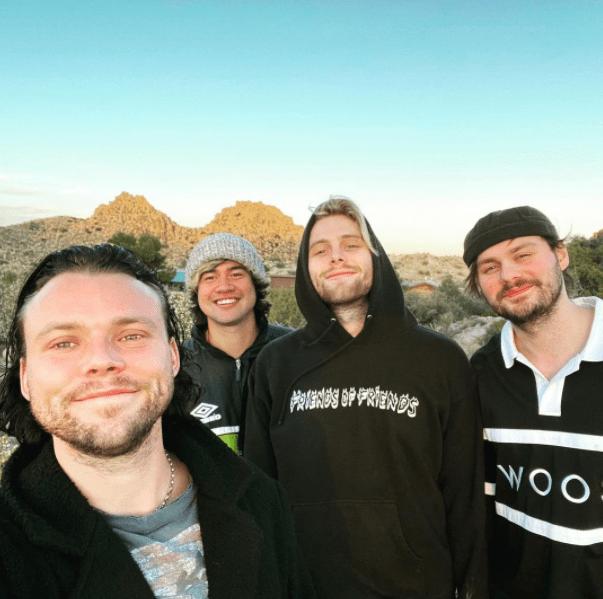 5 seconds of summer gravando o novo álbum