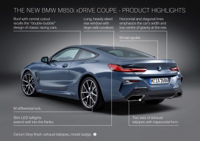The BMW 850i xDrive - Product Highlights