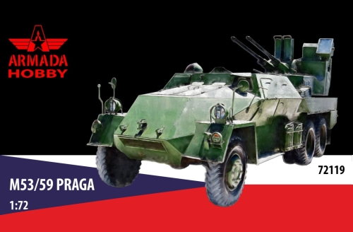 "PRAGA V3S PLDvK. vz. 53/59 ""Jesterka"" - Click Image to Close"