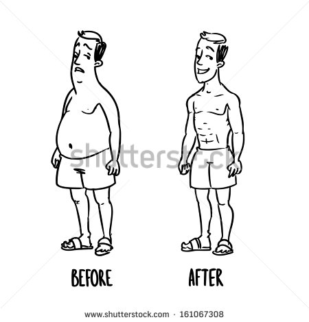 stock-vector-weight-loss-after-before-161067308