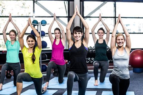 yoga for full body fitness