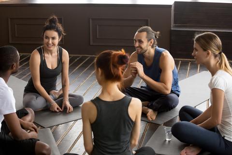 finding a yoga community
