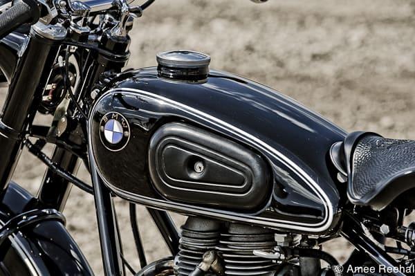 1954 BMW R25 gas tank
