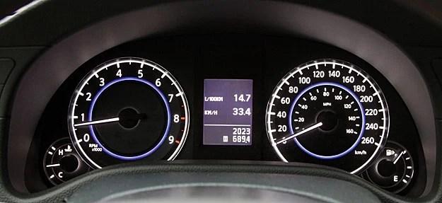 2011 Infiniti G37 IPL Coupe Review gauges