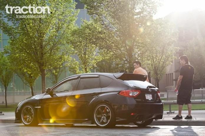 2008 Subaru STI Hatchback rear