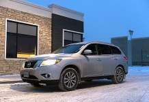 2013 Nissan Pathfinder SL profile
