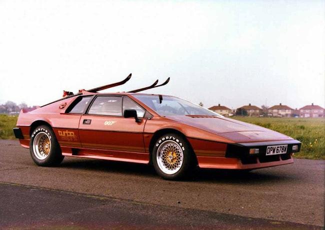 best bond cars Lotus Espirit Turbo