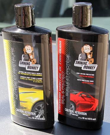 Shining Monkey Car Care Products wax