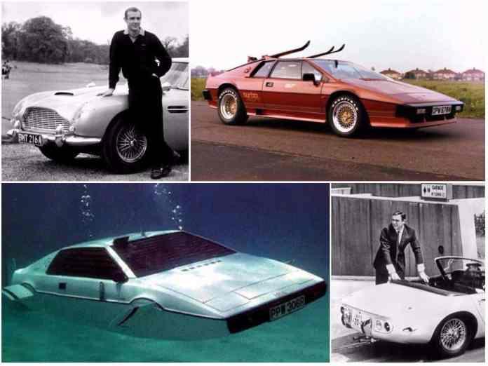 best bond cars top 10
