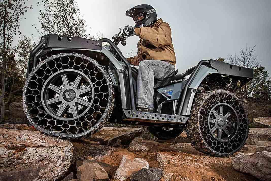 Polaris Sportsman WV850 H.O. ATV front
