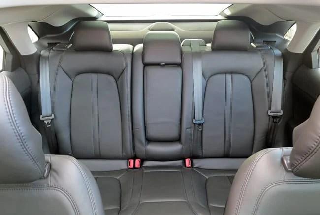 2014 Lincoln MKZ Hybrid rear seats