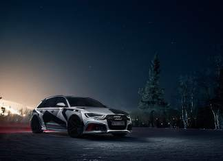 Jon Olsson 2014 Audi RS6 Wagon