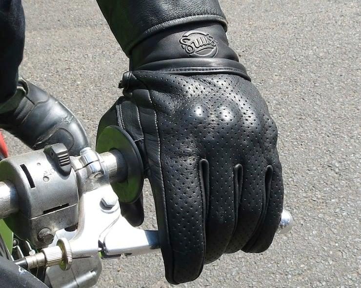Suus Black Moto Gloves